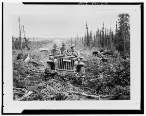 Willys-Jeep-in-action