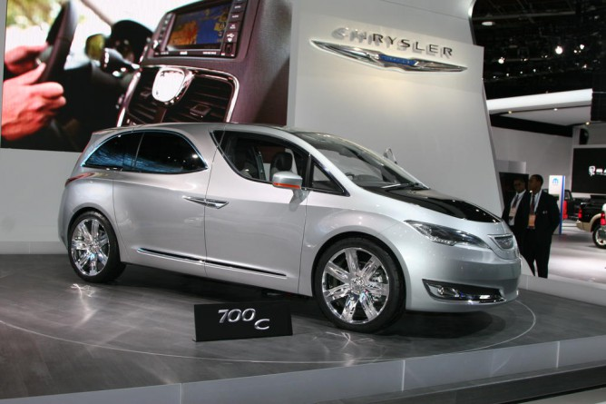The Chrysler 700C concept. Photo: GM Volt