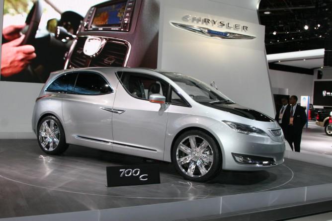 The Chrysler 700C concept. Photo: GM Volt