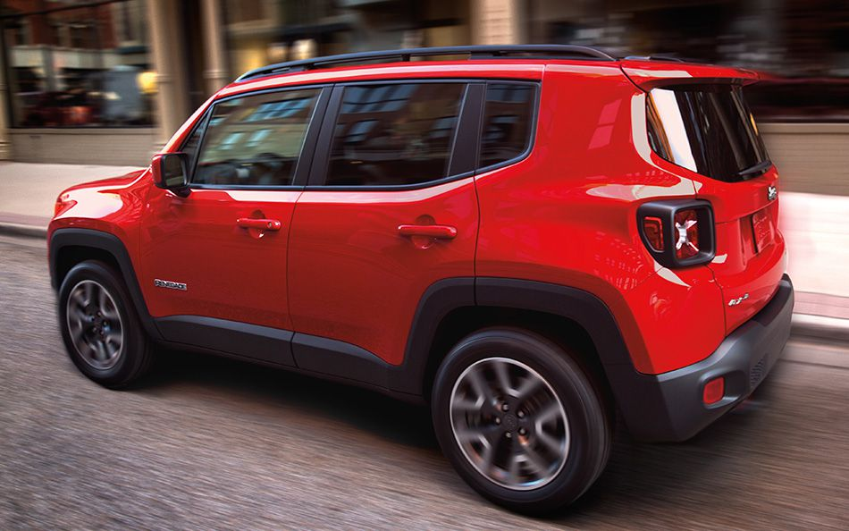 jeep renegade test drive
