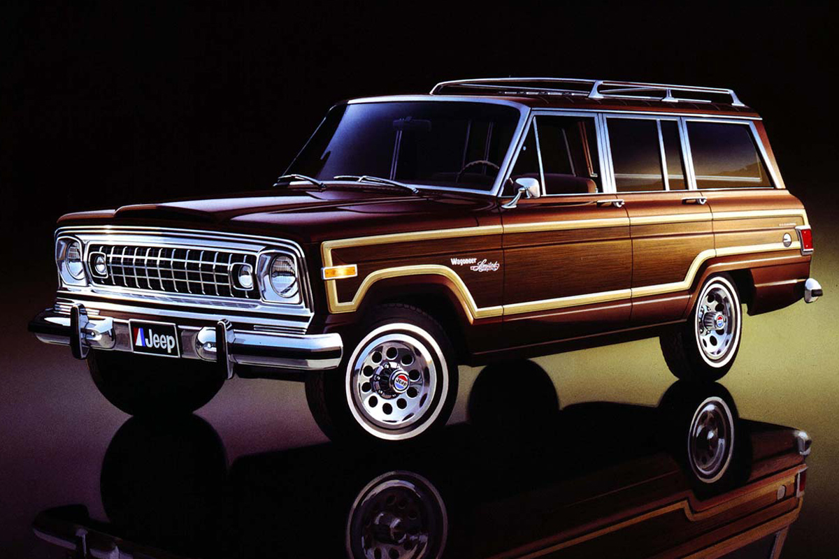 jeep announces grand wagoneer woody for 2018. Black Bedroom Furniture Sets. Home Design Ideas