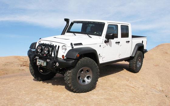 Jeep Wrangler Truck